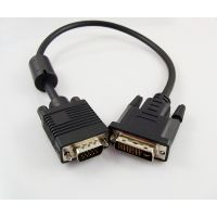 供应厂家批发 VGA转AV线 VGA转换线 高清电脑VGA线
