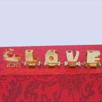 广东厂家直销精美挂饰 精致创意摆件 铜镀金圣诞挂件