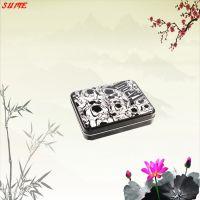 供应马口铁盒、钱包铁盒、钱包包装铁盒、迷你手机和、毛巾铁盒