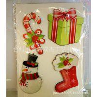 供应创意圣诞节木质工艺品 圣诞木质挂件饰品定制批发