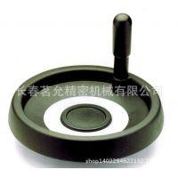 通用配件方向盘供应VDT+I 带旋转手柄的实心手轮 ELESA结构图采购