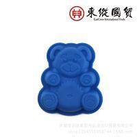 硅胶小熊烤盘 圣诞节系列熊仔蛋糕模
