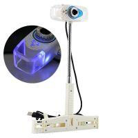 大河爱莎X1免驱高清带夜视网吧专用 液晶电脑摄像头 蓝光摄像头
