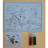 【厂家直销】涂色本填色本套装儿童绘画本套装批发