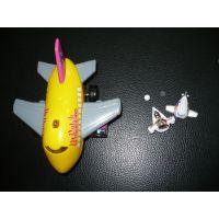闪光电动飞机-音乐电动飞机-玩具飞机COB定制