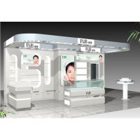 厂家供应商场高档化妆品台 化妆镜 化妆品展示台