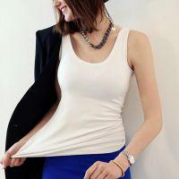 夏季韩版新爆款 女式时尚莫代尔吊带工字小背心  打底衫厂家批发