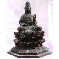 温州佛教法器观世音佛铜像-青铜佛像定制厂家-浙江达华法器