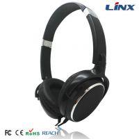 长期批发 网吧头戴式盒装耳机 黑色电脑游戏头戴式耳机