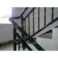 供应锌钢喷塑楼梯扶手护栏|新型穿插式方管护栏|银丰护栏