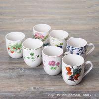 出口日本陶瓷餐具咖啡杯水杯马克杯牛奶杯