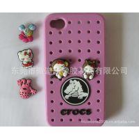 crocs卡洛施 iPhone4/4s 5 外壳 手机套 可爱公仔 硅胶套 保护套