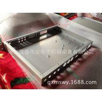 【河北厂家加工】1u高端服务器机箱 1u黑色工控机箱硬盘防震设计
