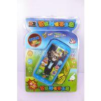 2014新款热销儿童玩具智能触摸带语音手机 带音乐/故事触摸等功能