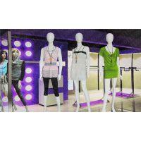 亮白女装模特橱窗展示人体模特全身半身模特服装女士模特道具
