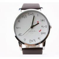 儿童益智/学生励志礼品表 手表厂家批发定制 个性创意计算表盘