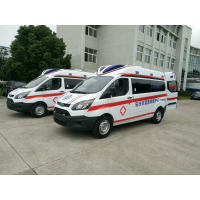 北京江铃新全顺救护车厂家 江铃福特新全顺v362短轴救护车价格