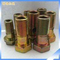 生产供应 英制热镀锌外六角螺栓 中空式碳钢外六角螺栓