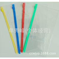 B6考试笔袋 透明文件袋 滑扣拉边袋 PVC拉链袋保护夹办公用品批发