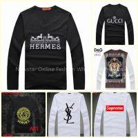 CK V Long T-shirt/ DG V Long T-shirt/DG V Long T-shirt/Gucci V T-shirt/G-Star V long T-shirt/Hermes V T-shirt