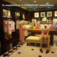 供应女性服装中岛架,TeenieWeenie女装中岛架,女装店货架展示柜
