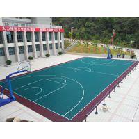 悬浮地板篮球场羽毛球场网球场运动拼装地板