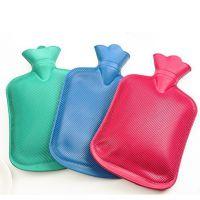 TL05纯色橡胶热水袋 PVC橡胶热水袋充水暖水袋大号注水暖手袋