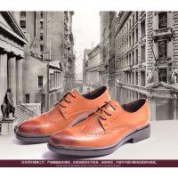 2015春季新款布洛克雕花商务外贸男鞋 真皮男士品牌皮鞋 鞋子批发