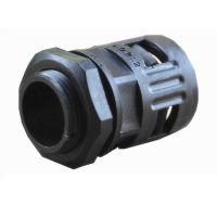 【热卖】波纹管接头 公制尼龙软管接头 塑料快速接头M12