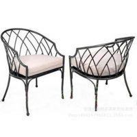 欧式铁艺复古实木餐桌椅咖啡茶几桌椅休闲创意电脑桌椅子厂家直销