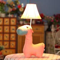 时光家居 创意儿童床头布艺台灯 带灯泡 厂家直销