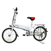 供应桑顿飞锂FLIVE折叠电动自行车 锂电池助力车 20寸36V超轻材质代步车包邮 雅典娜
