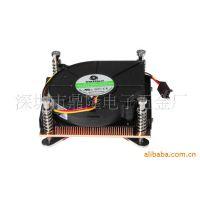 供应拓普龙Intel771/775/1150/1155/2011 纯铜CPU散热器 服务器机箱专用