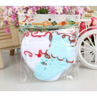 058韩国2双装儿童花边袜 宝宝6色童袜 全棉婴儿卷边花边袜子批发