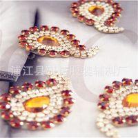 钻石小花 一包五个水钻衣花diy服装辅料婚纱婚鞋配饰手工材料