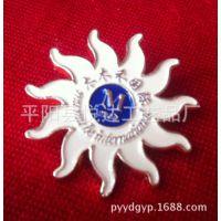 木木禾国际会员徽章 【连锁徽章】 公司定制金属胸章 金属胸章厂
