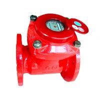 宁波牌可拆式热水表 干式水表  LCLCR-80 法兰水表 沪苏总代理