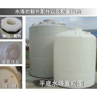 供应乐山塑料桶 超大型塑料罐 立式pe罐批发 四川大型储存罐询价