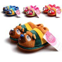 优居居冬季新品中小童保暖包根棉鞋儿童款室内家居棉拖鞋批发