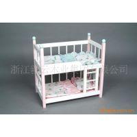 【木制玩具龙头企业】-小木床 过家家 婴儿床 实木家具 玩具批发