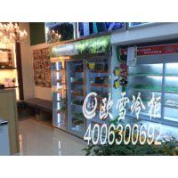 盐城蔬菜冷藏保鲜柜去哪买,蔬菜保鲜风幕柜报价多少LF-2500BY