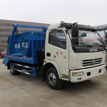 小型摆臂式垃圾车报价,3-5吨摆臂垃圾车价钱