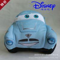汽车总动员毛绒玩具 来图来样订制 迪士尼怪兽大学毛绒汽车批发