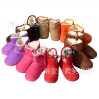 爆款特价 儿童雪地靴 冬季爆款 加厚超柔童靴 保暖宝宝鞋大童鞋