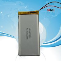 供应3.7v锂离子聚合物可充电锂电池8050105倍率功率电芯