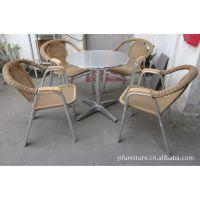 户外家具,现货藤椅,高档藤椅,铝藤椅,休闲家具,仿藤家具