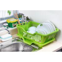 厨房置物架沥水篮滴水碗洗碗碟架碗架收纳储物架沥水架餐具架包邮