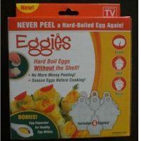 【文荣】 Eggies蛋黄分离器 6+1煮蛋器 鸡蛋型迷你煮蛋器