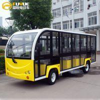 九江观光车之家 14座观光车FR-T14-M封闭款 厂家直销 全国包邮