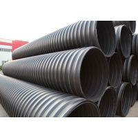河南PE钢带增强螺旋波纹管厂家直供